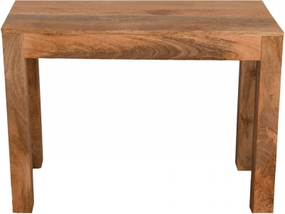 Dakota Indian Mango Wood 100cm Console Table - Light