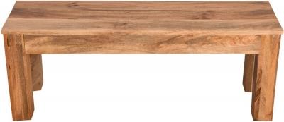 Dakota Indian Mango Wood Small Bench - Light
