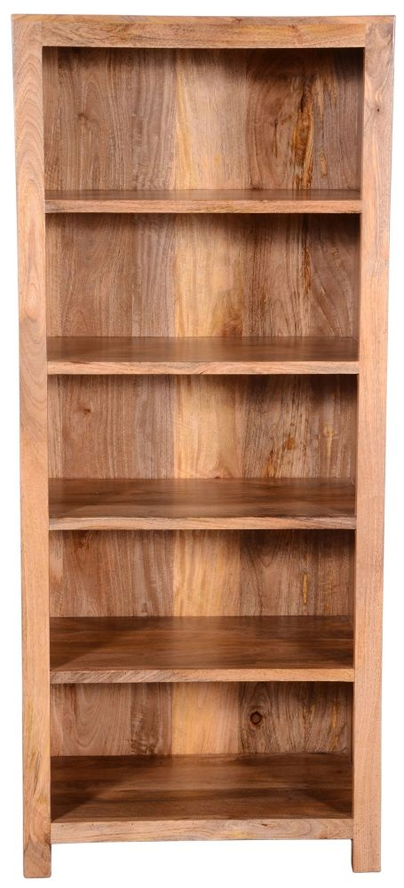 Urban Deco Dakota Light Mango Rustic Bookcase