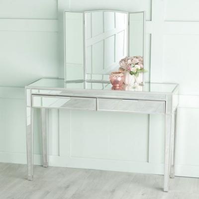 Urban Deco Elysee Mirrored Dressing Table