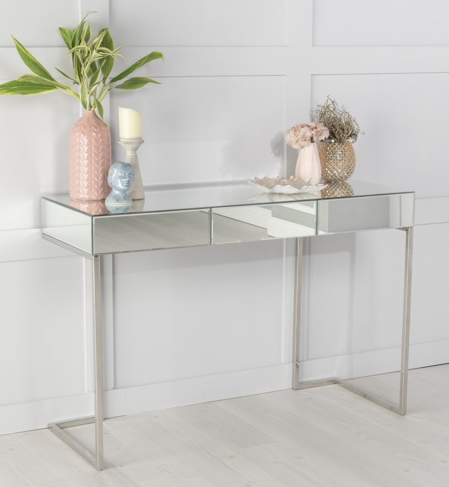 Urban Deco Fenwick Mirrored Dressing Table