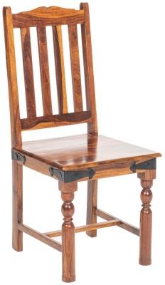 Ganga Sheesham Slatted Dining Chair