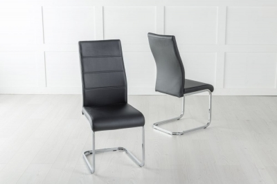 Malibu Metal Black Dining Chair