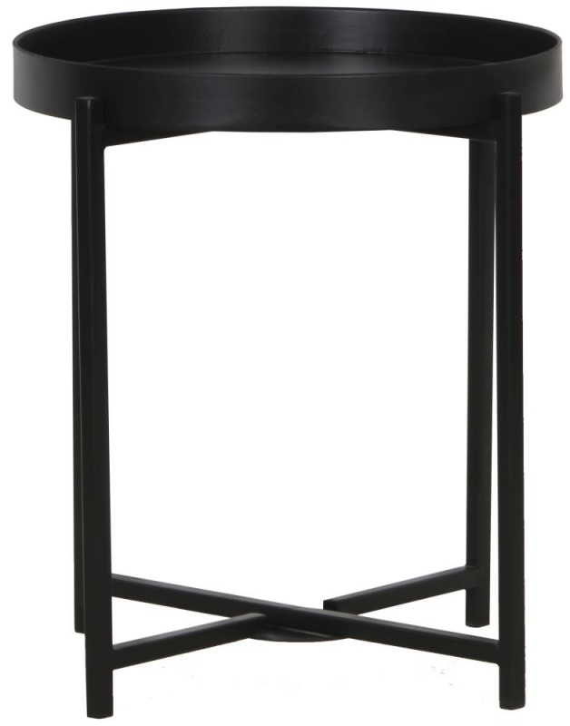 Nordic Black Side Table
