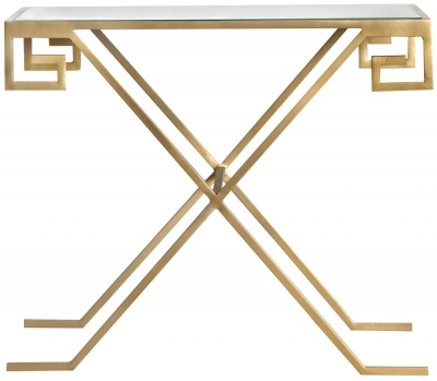 Roma Gold Side Table
