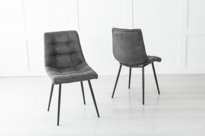 Shoreditch Metal Black Dining Chair