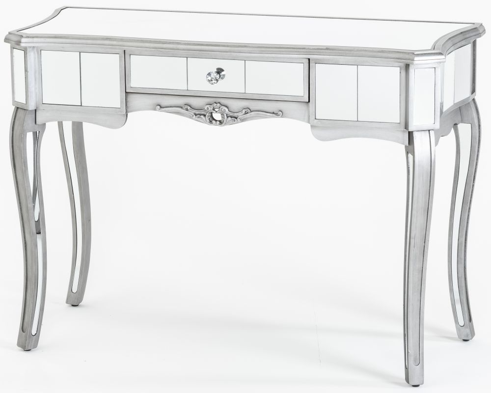 Urban Deco Tiffany French Mirrored Console Table