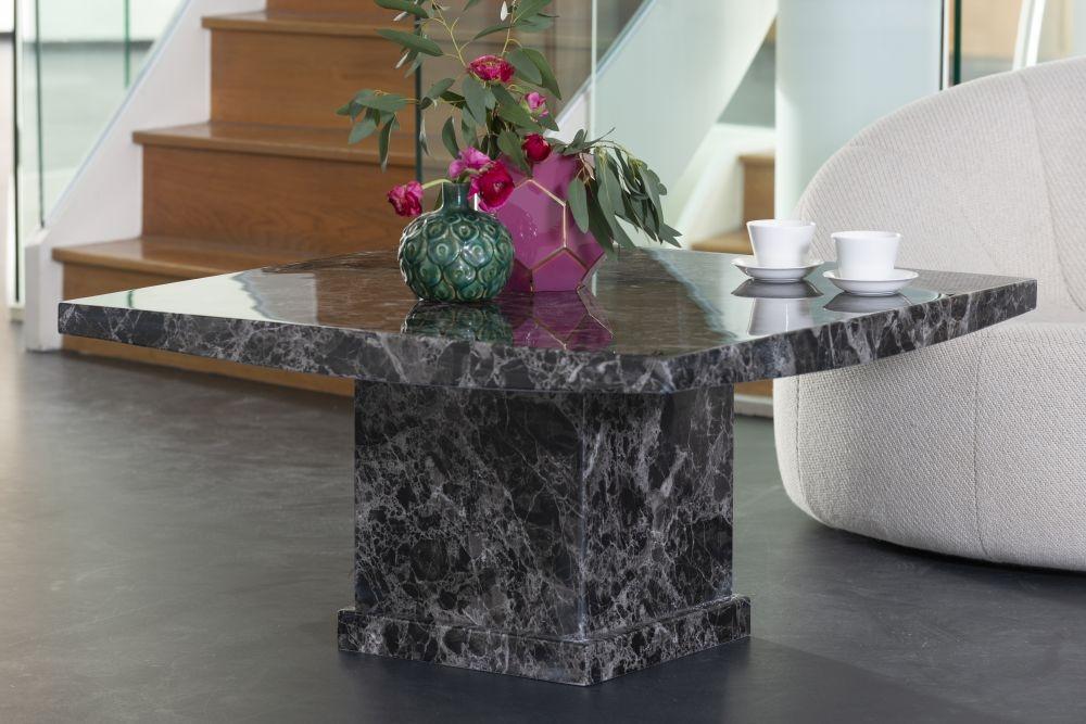 Urban Deco Turin Black Marble Coffee Table