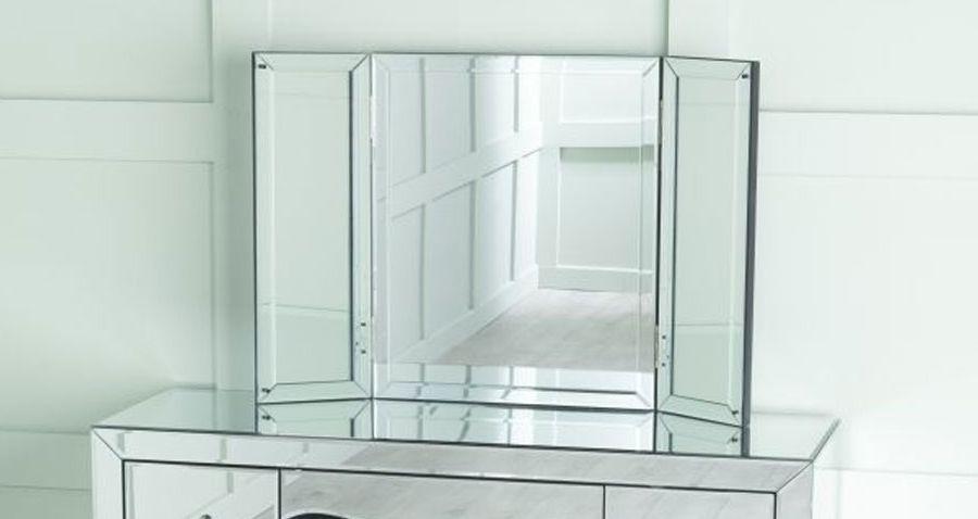 Urban Deco Venetian Triple Mirror