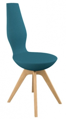 Varier Date Dining Chair with Wood Legs
