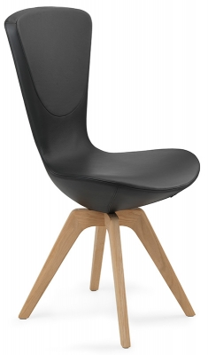 Varier Invite Dining Chair with Wood Legs