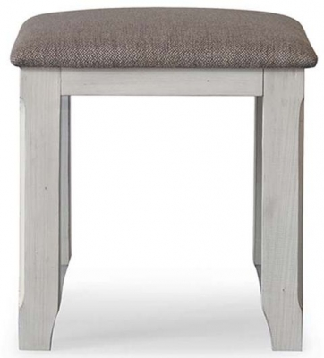 Vida Living Abingdon Antique Grey Stool