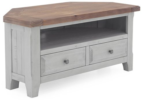 Vida Living Abingdon Antique Grey TV Unit