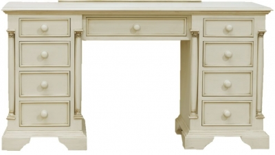 Vida Living Ailesbury Painted Kneehole Dressing Table