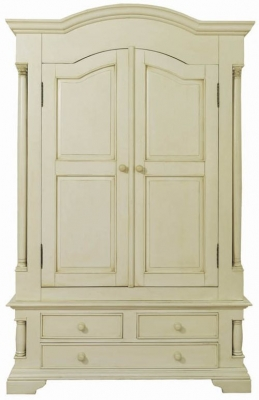 Vida Living Ailesbury Painted Wardrobe 2 Door 3 Drawer