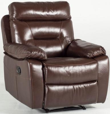 Vida Living Alessio 1 Seater Recliner - Brown