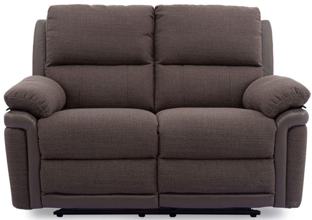 Buy Vida Living Alexandra Nutmeg Fabric 2 Seater Recliner Sofa