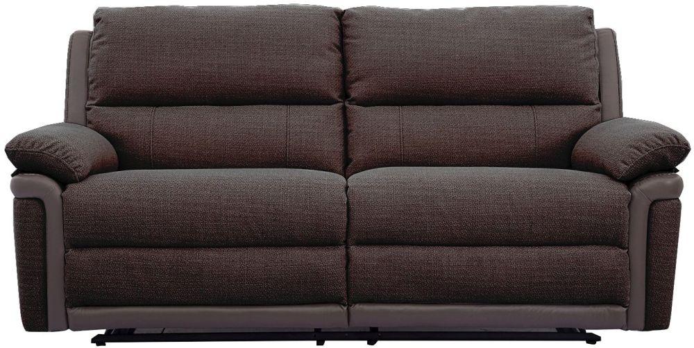 Vida Living Alexandra Nutmeg 3 Seater Recliner Sofa