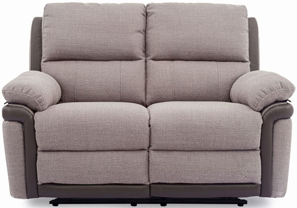 Vida Living Alexandra Oatmeal 2 Seater Recliner Sofa