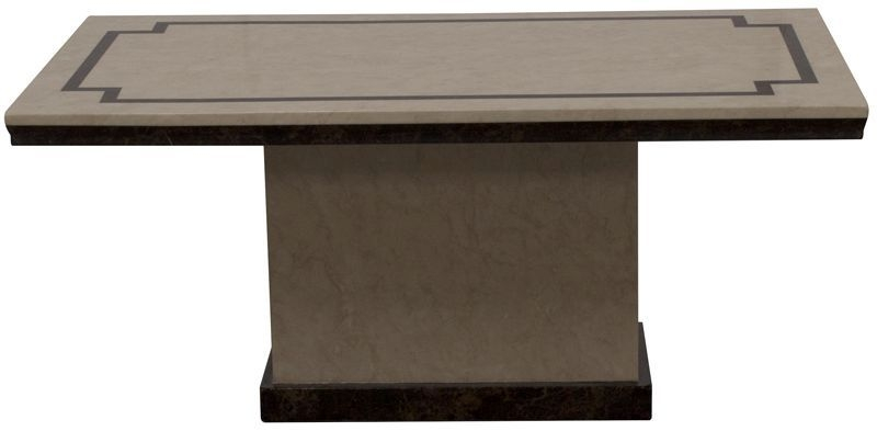 Vida Living Alfredo Beige Marble Coffee Table