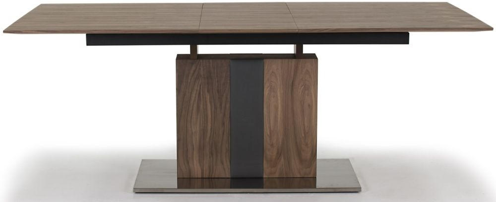 Vida Living Almara Walnut Dining Table - Extending