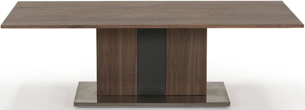 Vida Living Almara Walnut and Grey Coffee Table