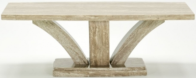 Vida Living Amalfi Coffee Table - Pearl Grey