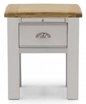 Vida Living Amberly Grey Painted Lamp Table