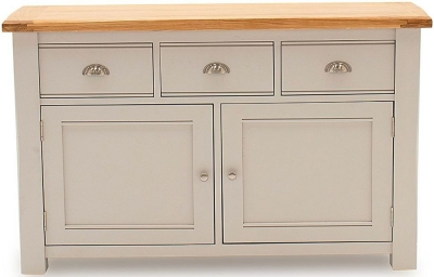 Vida Living Amberly Grey Painted Large Sideboard