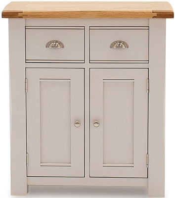 Vida Living Amberly Grey Painted Small Sideboard