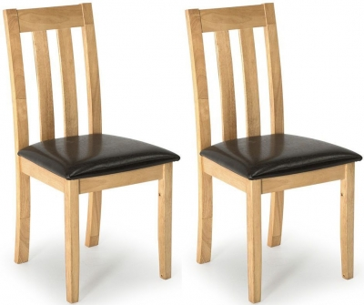 Vida Living Annecy Natural Wood Dining Chair (Pair)