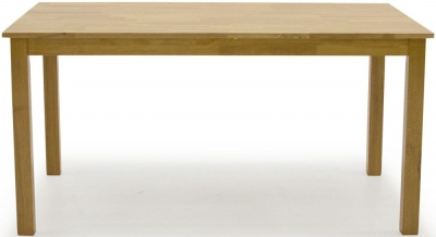 Vida Living Annecy 120cm Natural Wood Dining Table