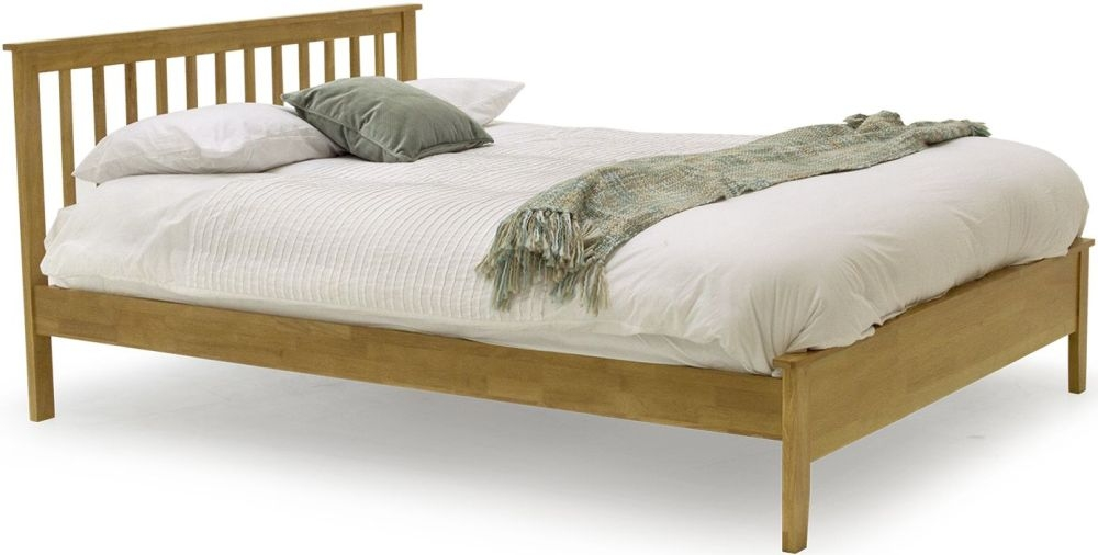 Vida Living Annecy Oak Bed - Low Footend