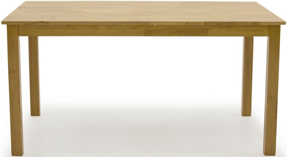 Vida Living Annecy Natural Large Dining Table