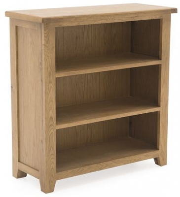 Vida Living Arden Solid Oak Bookcase - Low