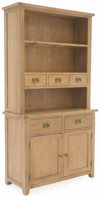 Vida Living Arden Solid Oak Hutch - Small