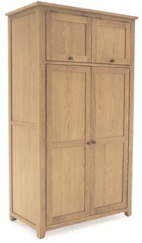 Vida Living Arden Solid Oak Kitchen Larder - Small