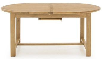 Vida Living Arden Solid Oak Dining Table - Oval Extending