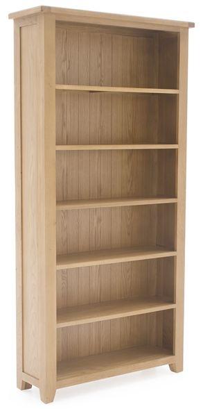 Vida Living Arden Solid Oak Bookcase - Large