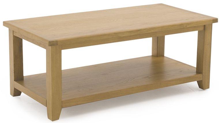 Vida Living Arden Solid Oak Coffee Table - Large
