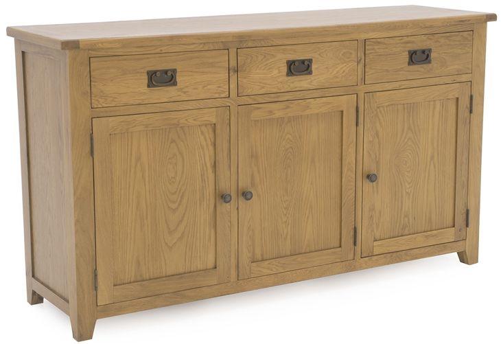 Vida Living Arden Solid Oak Sideboard - Large