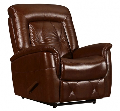 Vida Living Giovanni Electric Lift Up Armchair - Brown