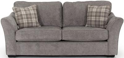 Vida Living Arran Grey Fabric 3 Seater Sofa