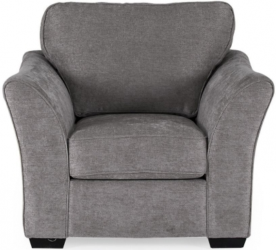 Vida Living Arran Grey Fabric Armchair