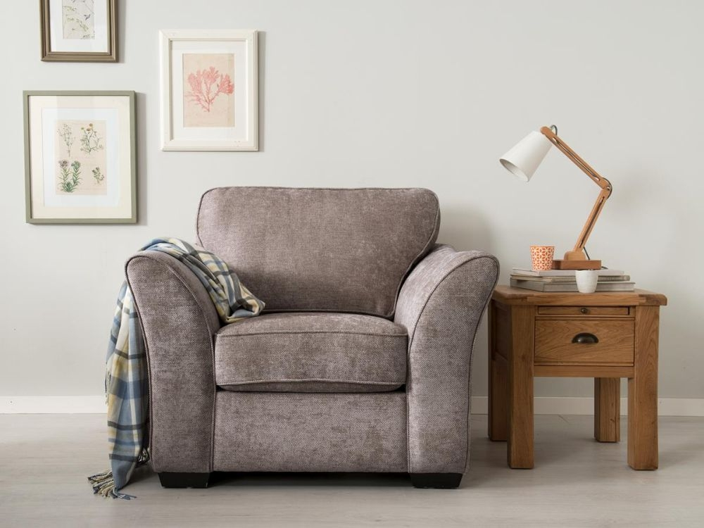 Vida Living Arran Fabric Armchair - Grey