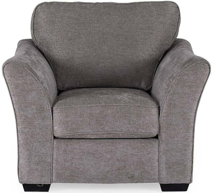 Vida Living Arran Grey Fabric Armchair