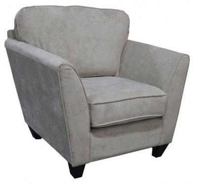 Vida Living Aspen Fabric Armchair - Parchment
