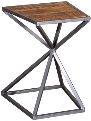 Vida Living Tiznit Natural Acacia Drink Table