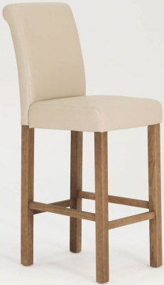 Vida Living Carlton Ivory Bar Stool