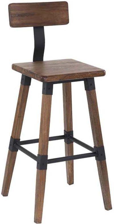 Vida Living Hunter Rustic Bar Chair